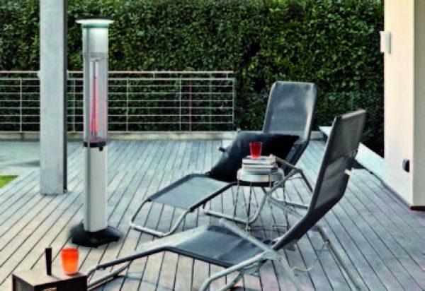 REBEL TOTEM terrassisoojendaja - elektriline