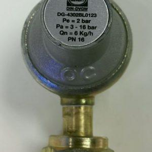 Gaasiregulaator keermega 2bar 6kg/h
